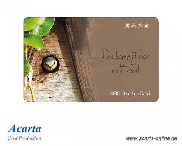 RFID-Störsenderkarte Motiv 24 Du kommst hier nicht rein!