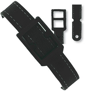 Kunststoff Gepäckriemen ca. 187 mm, mit schwarzen Verschluss, Verpackungseinheit: 50 Stück