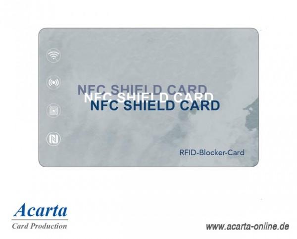 RFID-Störsenderkarte Motiv 14 NFC SHIELD CARD Aquarell