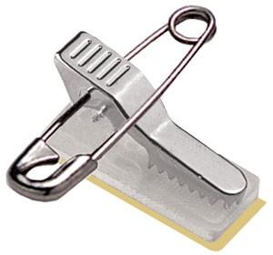 Kombi-Clip mit Sicherheitsnadel