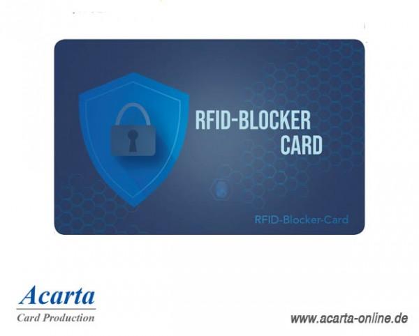 RFID-Abschirmkarte Motiv 01 Schutzschild