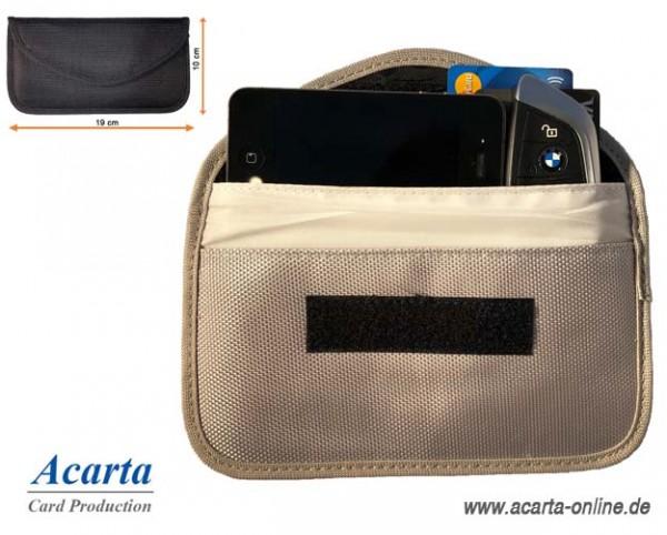 RFID-Blocker Combi Bag für Handy, Autoschlüssel und RFID-Karten